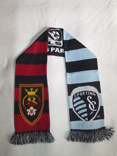 MLS CUP 2013 National Championship Soccer Scarf ~ Real Salt Lake v  Sporting KC