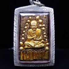 Old Pra Somdej Toh pratat patnom Buddha Amulet from Thailand , Rare