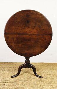 A fine 18th century 'Bird Cage' tripod table.