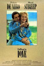 FALLING IN LOVE 1984 Robert De Niro Meryl Streep UK 1-SHEET POSTER