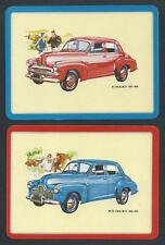 #950.1325 vintage EXTRA WIDE swap card -MINT pair- Holden cars FJ & 48/215 (FX)