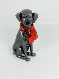 Bath & Body Works Dog with Christmas Scarf Wallflower Plug in Holder Diffuser