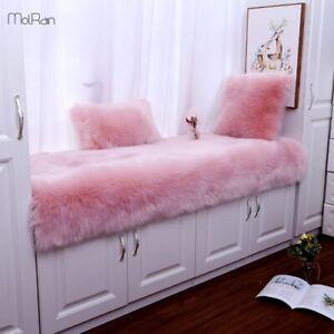 Thicken Non-Slip Rugs Long Plush Carpet Warm Carpets Living Room Area Rugs Mats