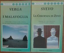 I Malavoglia; La Coscienza di Zeno - Verga, Svevo - Ciranna,2000 - A
