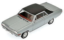Opel Diplomat A Coupé V8 1965-67 argent argent métallique 1:43 Minichamps
