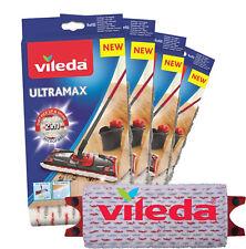 NEU 5x VILEDA UltraMat UltraMax Ersatzbezug für saubere und streifenfreie Böden