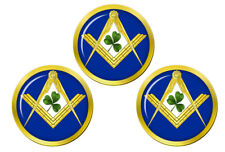 Irish Masons Masonic Golf Ball Markers