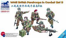 CB35131  1/35 BRONCO  WWII British Paratroops In Combat Set B
