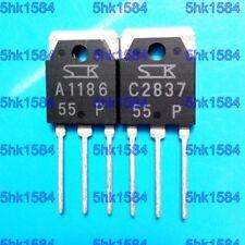 1pairs OR 2PCS SANKEN TO-3P 2SA1186-P/2SC2837-P 2SA1186/2SC2837 A1186/C2837