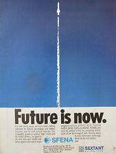10/1989 PUB SFENA SEXTANT AVIONIQUE MISSILE LASER GYRO EXOCET PLUTON ARIANE AD