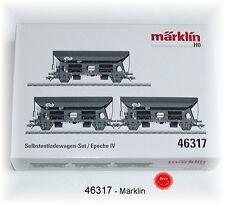 Märklin 46317 Jeu avec 3 Selbstentladewagen de la NS # Neuf Emballage D'Origine