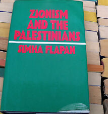 Zionism and the Palestinians HC DJ RARE 1979 Simha Flapan