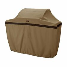 New Classic Accessories Grill Cover Large Tan Bbq Gas Broil Full Patio Grillware