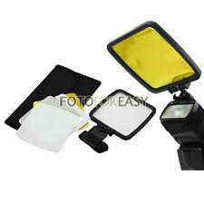 Flash Reflector/Diffuser Kit for Canon 430EX 550EX 580EX II 600EX-RT Speedlight