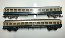1x Lima 9174 Personenwagen 2. Klasse, Grün/Beige  - DB Af 4 üm 10488 Mü
