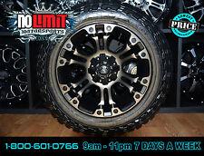Fuel Vapor D569 Wheels 20x9 Machine DDT 5/6/8 Lug Pattern 20mm Offset