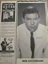 Richard Dick Chamberlain, Full Page Vintage Pinup