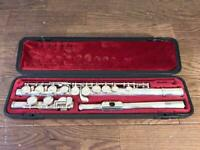 YAMAHA YFL-211S Flute With Hardcase Working From JAPAN USED FedEx or DHL [K]