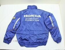 Rare JDM Honda Access Sayama Plant Staff Jacket Jumper Windbreaker , Large