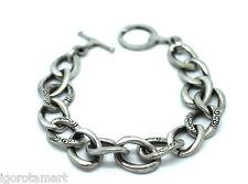 """Fashion Hommes Hommes 8"""" Argent Acier 316 L Homme Cubain Curb Chain Link Bracelet"""