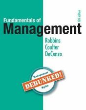 Fundamentals of Management : Essential Concepts and Applications by Robbins