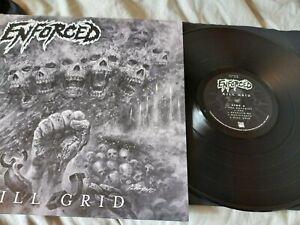Enforced - Kill Grid 180g vinyl LP EX/VG