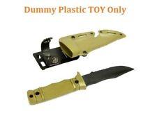 CYMA HY016B Dummy M37-K Bayonet Seal Pup Plastic-TOYS-Knife With Sheath (DE)