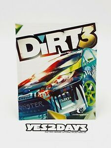 DIRT 3 PlayStation 3 ps3 Game Manual | Excellent Condition