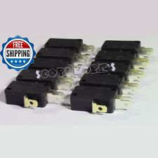 10 Pack Zippy Micro Switches 3 terminal Arcade Gaming Switch for Push Buttons