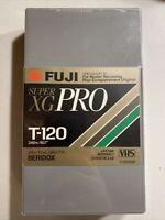 Blank VHS Tape FUJI A/V Master Camcorder Super XG T-120 Sku:1