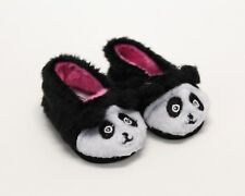 Slippers for Wellie Wisher Dolls - 14.5 Inch Dolls - Panda Slippers - Shoes