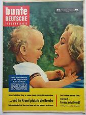 Bunte Illustrierte 38/1959, Leonie Rysanek, Gracia Patricia, Theodor Heuss,