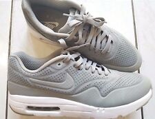NIKE AIR MAX 1 ULTRA ESSENTIAL MENS RUNNING SHOES SNEAKERS TRAINERS GRAY RARE!!