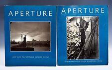 Aperture 117 and 118 Josef Sudek Poet of Prague Large Format Czech Pictorialism