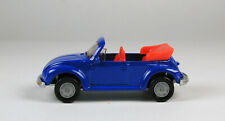 Siku VW Beetle 1303 LS Convertible Blue No Package