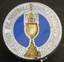 Everton FC Vintage 1987 campeones de liga Insignia Broche Pin En Dorado 17 mm de diámetro