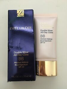 Estée Lauder double wear all day glow BB moisture makeup spf30 Intensity 1.0 NIB