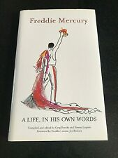 Freddie Mercury Queen A LIFE IN HIS OWN WORDS Hardback 1st edition 2006 RARE NEW