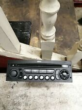 Citroen C4 Picasso Radio Stereo 96645891xt Siemens including coding.