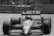 9x6 fotografia, STEFAN JOHANSSON, LIGIER-Judd JS31, Us Gp Detroit 1988