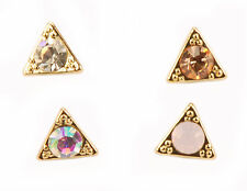 Con Mi Go London E110022 four highly fashionable stud earrings  - gold colour