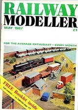Railway Modeller Magazine - May 1987  - Overhead signal cabin