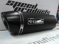 Auspuff SV 650 COBRA Street Cone3 Black oval short SUZUKI SV 650 / S BJ.99-02
