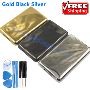 Blank Metal Back Housing Cover for iPod Video 5 5.5th Classic 6th 7th Laser Etch