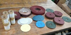 Abrasive Sanding Rolls & Discs 11 Kilos JOB LOT A 313