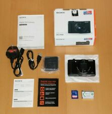 Sony Cyber-shot DSC-HX90 18.2MP Digital Camera - Black