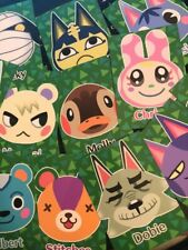 fan made animal crossing amiibo art cards (invite your fave villagers!)