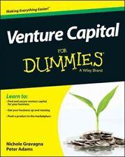 Venture Capital for Dummies, Paperback by Gravagna, Nicole, Ph.D.; Adams, Pet...