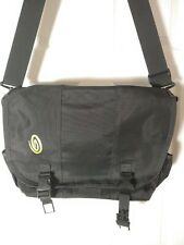 Timbuk2 Black Laptop Messenger Bag with Padded Back and Laptop Section