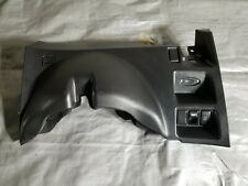 2009 INFINITI G37 COUPE OEM DRIVERS SIDE DASHBOARD KNEE TRIM , WITH BUTTONS